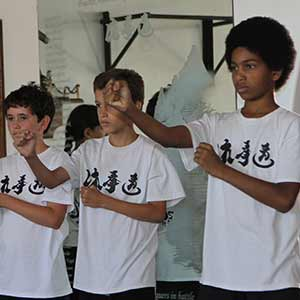 Martial arts and physical training for students under 17.<br />